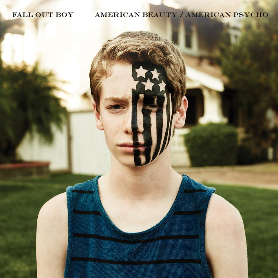 American Beauty/American Psycho Album Cover Fall Out Boy