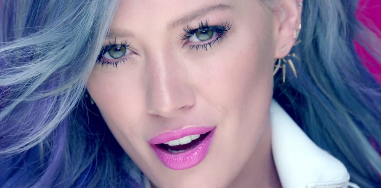 Hilary Duff Sparks MV