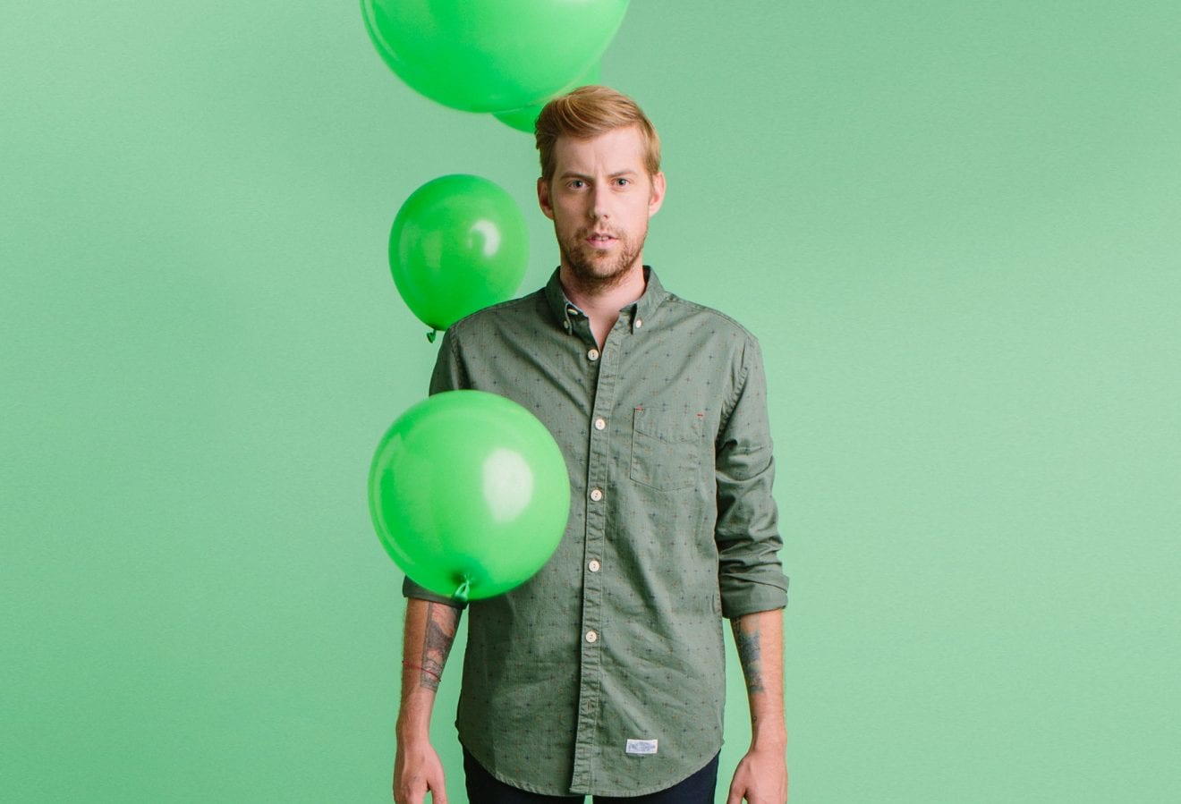 Andrew McMahon In The Wilderness green