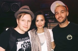 "Fall Out Boy Re-Imagine ""Irresistible"" With Help From Demi Lovato And Doug The Pug"