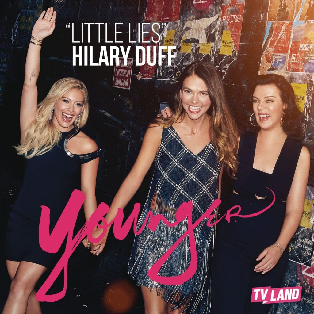 Hilary Duff Little Lies Cover Younger