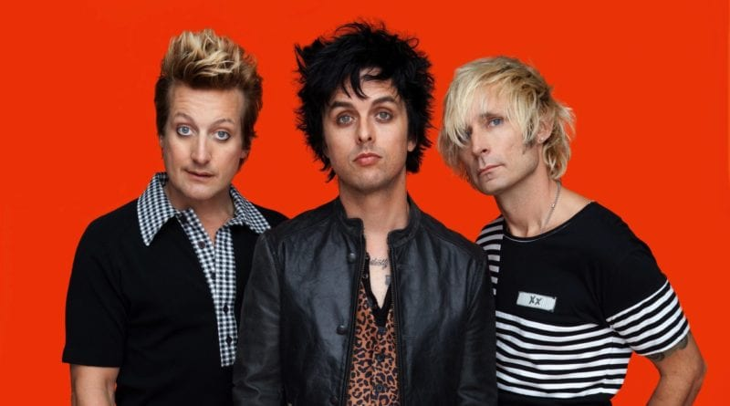 Green Day 2012 Trilogy Orange