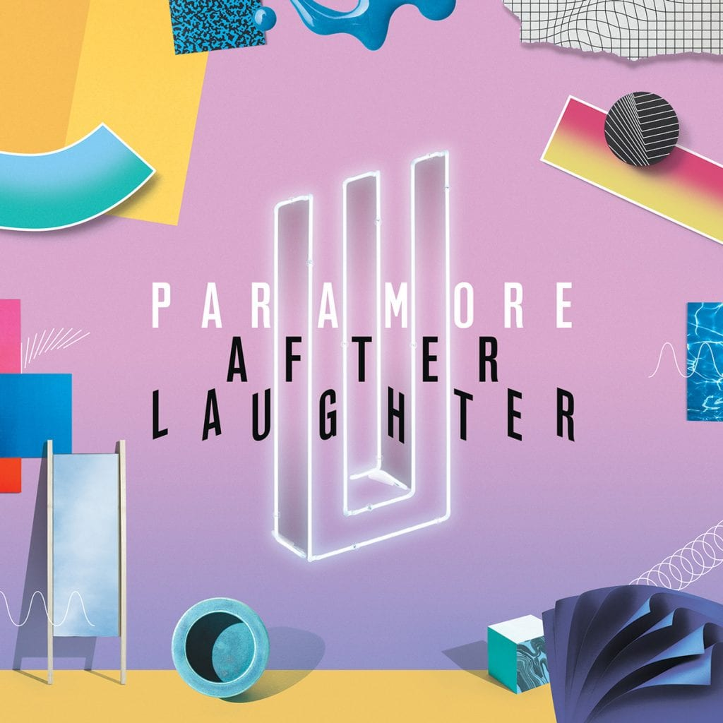 Paramore After Laughter album cover 2017