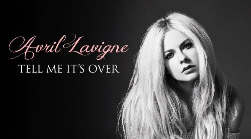 Avril Lavigne - Tell Me It's Over announcement