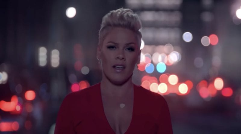 Pink - Walk Me Home - music video