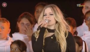 Avril Lavigne Performs New Song At Special Olympics Opening Ceremony