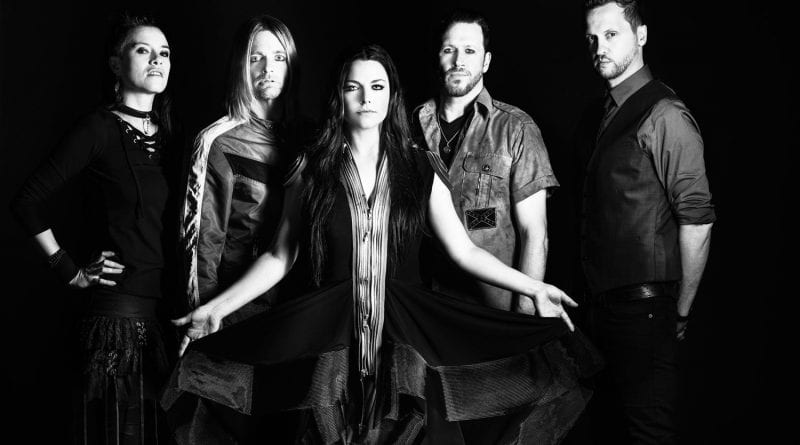 Evanescence enter studio memorial day weekend