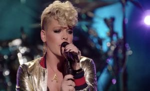 """P!nk Offers Behind-The-Scenes Glimpse In """"Whatever You Want"""" Video"""